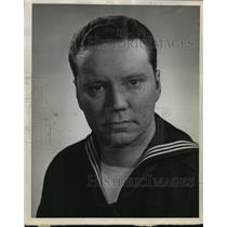 """1944 Press Photo Bill Thompson, formerly """"Mr. Wimple"""" of Fibber McGee broadcast"""