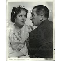 "1938 Press Photo Gracie Allen, with Edward Everett Horton in ""College Swing."""