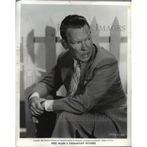 "1940 Press Photo Fred Allen in Paramount's ""Love Thy Neighbor"" - mjx05689"