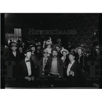 1966 Press Photo Crowd Outside Monte Carlo Saloon, Dawson City Canada