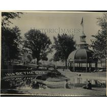 1984 Press Photo Bethesda Springs, Waukesha - mjx04102
