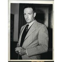 1942 Press Photo Gerhard Wilhelm Kunze in New York Federal court trial