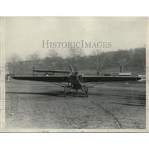 1928 Press Photo Midget Airplane of V.C Bobcock, Akron Ohio - ney11671