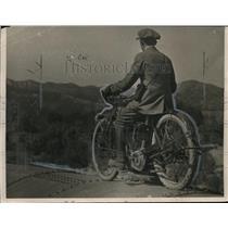 1923 Press Photo Motorcyclist Harry Hartz - ney14624