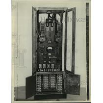 1928 Press Photo WTMJ Control Room - mjx06840