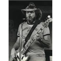 1982 Press Photo Jack Williams singing. - mja23552