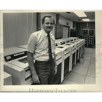 1983 Press Photo Don F. Whiting,Vice President of manufacturing at Cray Research