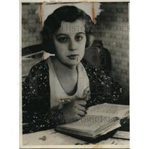 1933 Press Photo Daughter Wins Right to Remain in America Despite Father's Plan
