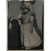 1924 Press Photo Elsie Hauman, child actress of Venice - ney13684
