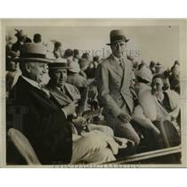 1933 Press Photo Hewett Brown, DeWitt Page, Avritt Brown, L Brown at Miami race