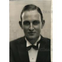 1933 Press Photo Robert Waldrop, NBC Announcer - orp30310