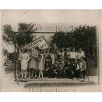 1929 Press Photo School Strike in Urbana, Illinois - ney13404