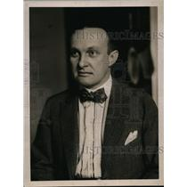 1919 Press Photo T.A. Rickert, President Garment Workers Union - ney13887