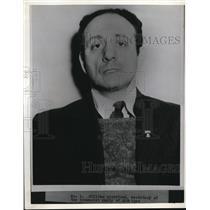 1938 Press Photo William Winestone, Secretary Communist Party of Michigan