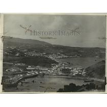 1926 Press Photo Horta Harbor, Azores Islands, Portugal - mjx06567