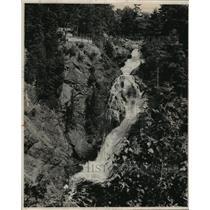 1974 Press Photo Big Manitou Falls in Pattison State Park - mjx09179