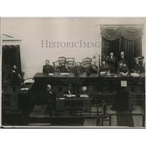 1922 Press Photo Revolutionary Prosecution During Greece Court Trial - ney14026