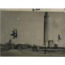 1918 Press Photo The Light Tower in Calais - ney14461