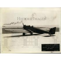 1930 Press Photo Klemm AKL-27 Plane - ney13532