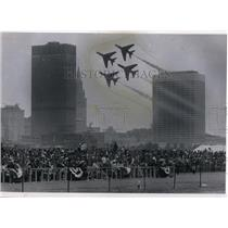 1968 Press Photo Part of crowd at Cleveland National Air races - cvo02235