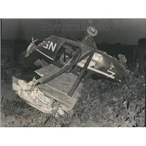 1973 Press Photo Airplane Crash - RRR43501