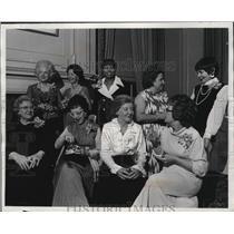 1972 Press Photo Milwaukee women activists honored at University Club