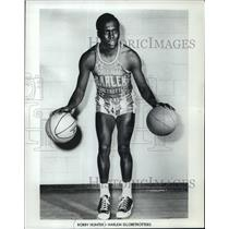 1974 Press Photo Bobby Hunter - Harlem Globetrotters - mjx12796