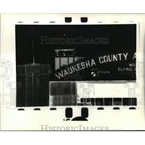 1991 Press Photo Waukesha County Airport - Crites Field Airport - mja25694