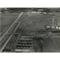 1981 Press Photo Airport of Waukesha Wisconsin - mja25696