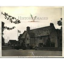 1923 Press Photo Sulgrave Manor, The ancestral home George Washington Family