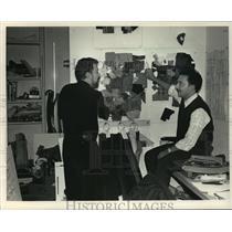 1986 Press Photo Maurice R Antaya & Richard G Assatly designers for Anne Klein 2