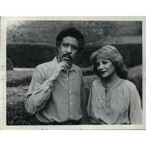 1979 Press Photo Richard Pryor is interviewed by Barbara Walters  - mja26044