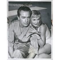 1960 Press Photo Actor Rassano Brazzi Television - RRR45507