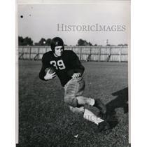 1938 Press Photo Bill De Correvant Chicago Austin HS football player - net18347