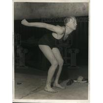1924 Press Photo Ed Lennos Oak Park HS 100 yd breaststroke champ in PA