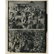 1930 Press Photo Costes at Dallas Texas - ney15130