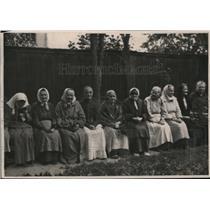 1920 Press Photo Petrograd Women at the American Red Cross Home in Terijoke