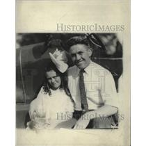 1921 Press Photo J. Kilbone & Daughter - ney16386