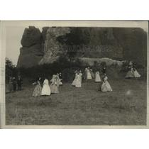 1923 Press Photo National Women's Party, Garden of the Gods, Colorado Springs