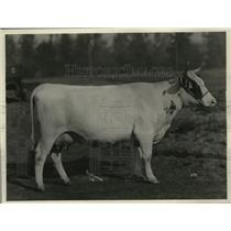 1923 Press Photo Wenatchee Blossom Grand Champion E.W. Van Tassell - spa30770
