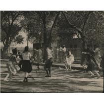 1920 Press Photo Mexico Children Playing La Pinata - ney15987