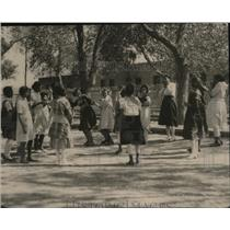 1920 Press Photo Mexico Children Playing La Pinata - ney15991