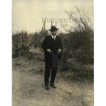 1926 Press Photo Adolfe de la Huerta Mexican Revolt Leader Only Picture