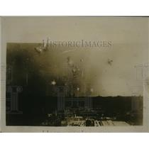 1918 Press Photo Paris, France Bombarded by Gothas - ney18175
