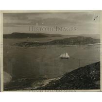 1928 Press Photo Indian Harbor, Labrador, Not Far Where Bremen Landed