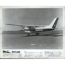 1964 Press Photo Cessna Skylane Plane - ney16696