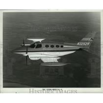 1967 Press Photo Cessna Model 411-A Plane - ney16970