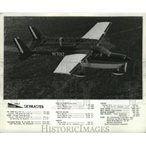 1963 Press Photo Cessna Skymaster Plane Information - ney16990