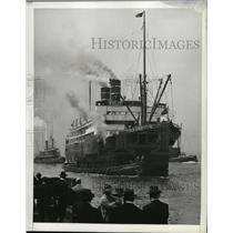 1914 Press Photo SS Siloney - ney17227