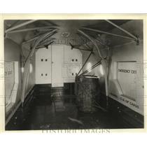 1935 Press Photo Cargo Area of Curtiss-Wright condor Plane - ney17548